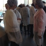 hair nets are so fashionable!